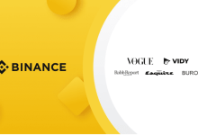 Binance ayuda a Vogue a crear un NFT