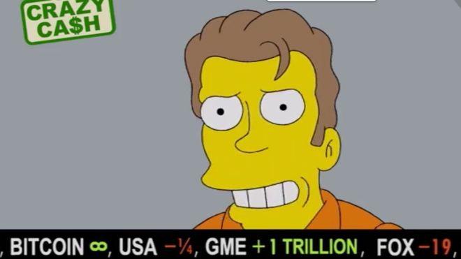 Los Simpson apuestan por Bitcoin y predicen su precio
