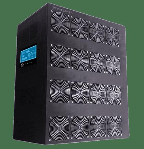 GBT, el más potente y de los ASIC de BitWat, tiene la asombrosa capacidad de 2250 TH/s para la minería de Bitcoin.