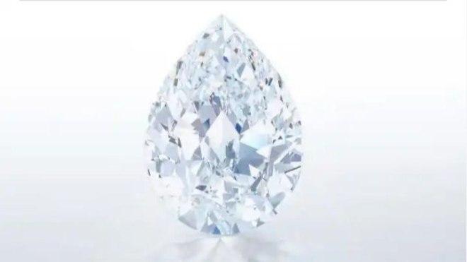 """Diamante """"The Key 10138"""". Fuente: Sotheby's"""