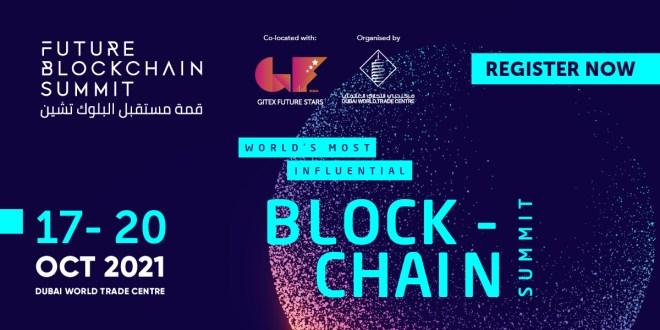 Événement crypto à Dubaï.  Source : Future Blockchain Summit