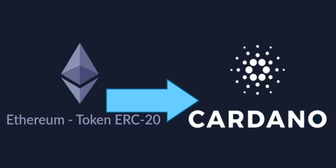 Desde la Blockchain de Etehreum, los tokens ERC-20 podrán migrar hacia la red de Cardano, anunciaron los desarrolladores de Input Output.