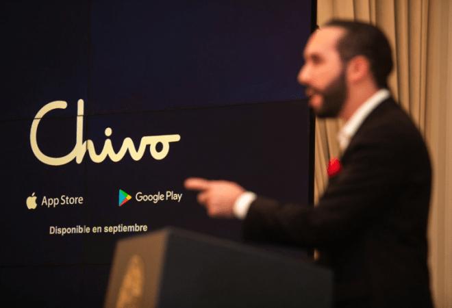 Chivo es la billetera electrónica que ha diseñado el Gobierno de El Salvador para la conversión entre Bitcoin y dólares. Fuente: Presidencia Gobierno de El Salvador