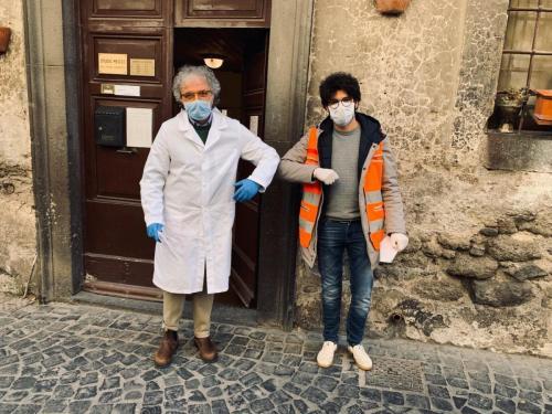 2020 - 11.03.20 Emergenza Covid 19 Consegna mascherine medici pediatri - territorio sabatino