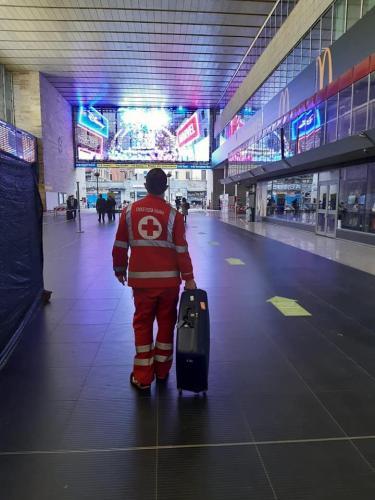 2020 - 14.05.20 Partenza contingente CRI - assistenza migranti soccorsi in mare
