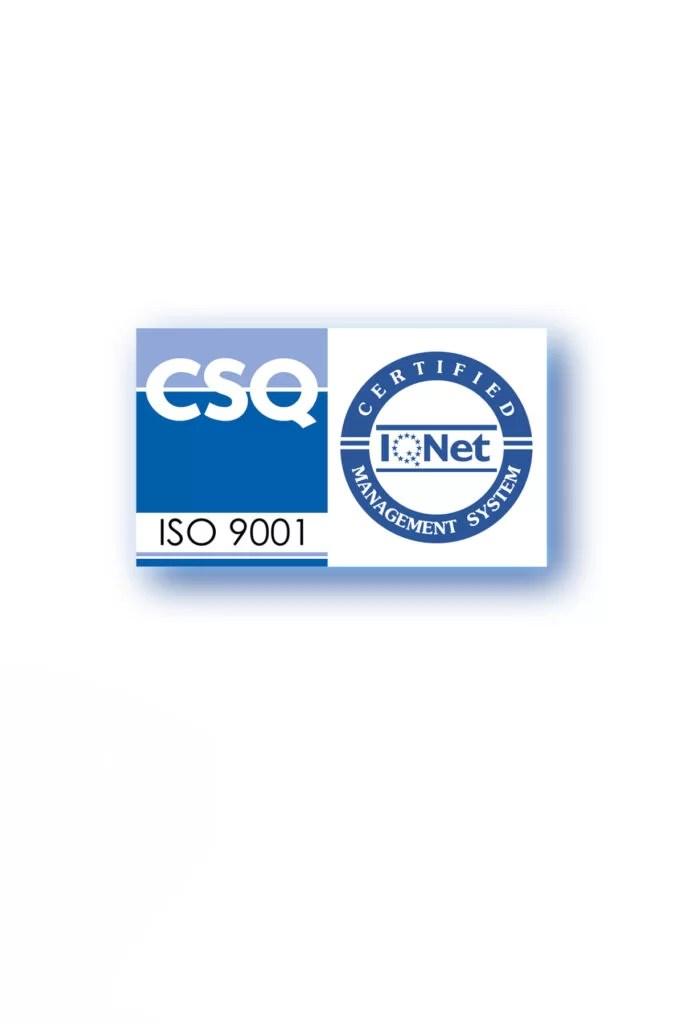 Certificato crisam professional makeup academy ISO9001