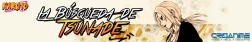 Naruto Pequeño La Búsqueda de Tsunade Banner