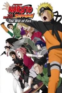 Naruto Shippuden Película 3 Los Herederos de la Voluntad de Fuego Poster
