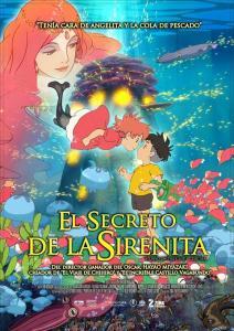 Ponyo y el secreto de la sirenita Latino Pelicula MEGA MediaFire Openload Poster
