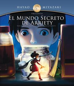 El mundo secreto de Arrietty pelicula latino poster