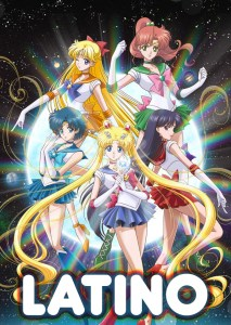 sailor_moon crystal latino anime poster