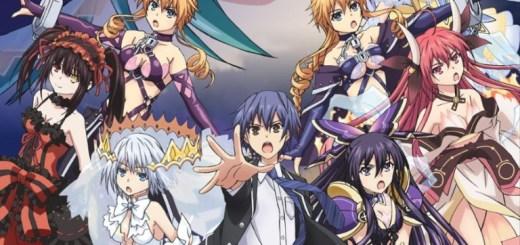 Date A Live III Anime Portada