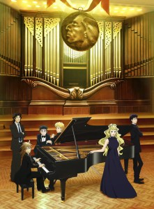 Piano no Mori 2nd Season Anime Poster