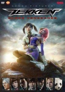 Tekken Blood Vengeance Anime Poster