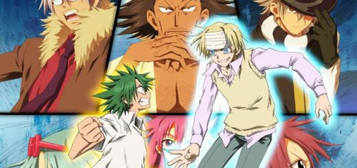 The Law of Ueki MEGA Anime Portada