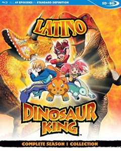 dino rey latino mega anime poster