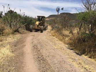 Rehabilitación de carretera de La Villita al Tuiche
