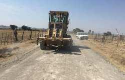 Rehabilitan carretera Jabonera-Monte de Yañez