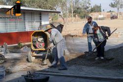 Construcción de Patio Cívico en Primaria de Las Delicias