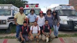 Celebración del Día del Bombero en Nochistlán