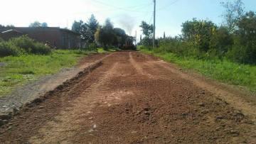 Rehabilitación de calles y caminos en Tlachichila