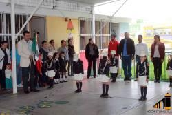 Lunes Civico en Jardin de Niños Miguel Hidalgo