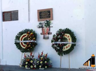Homenaje y reconocimiento a policías caídos