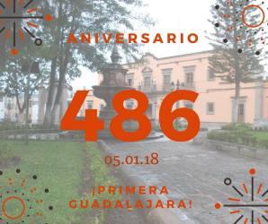 486 aniv. de la fundación de La Primera Guadalajara