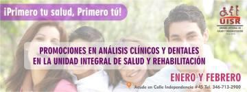 Atención promoción en análisis clínicos