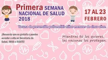 Primera Semana Nacional de Salud 2018