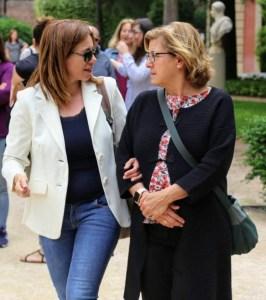 Cristina con Chus Vicente Mosquete