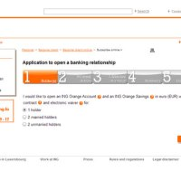 ING Luxembourg (Luxemburgo): Apertura de Cuenta Bancaria Online