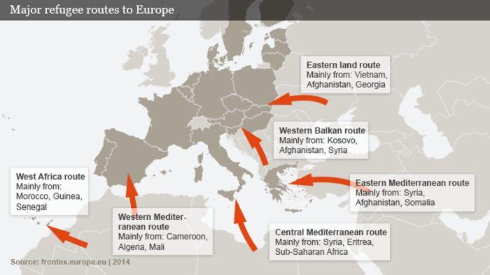 Μεταναστευτικό: 2300 μετανάστες από Μαρόκο και Λιβύη σε Ισπανία-Ιταλία