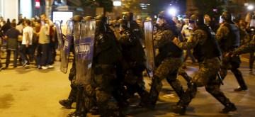 Διαδηλώσεις υπέρ εκλογών-Γκρουέφσκι στα Σκόπια