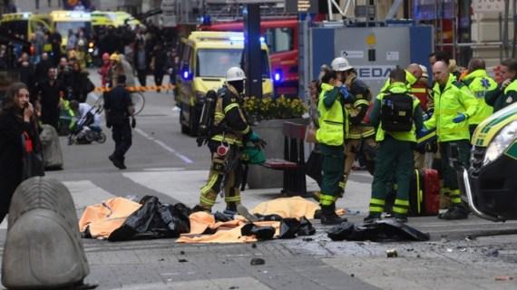 Επίθεση στη Στοκχόλμη: Υπήρχε και βόμβα στο φορτηγό