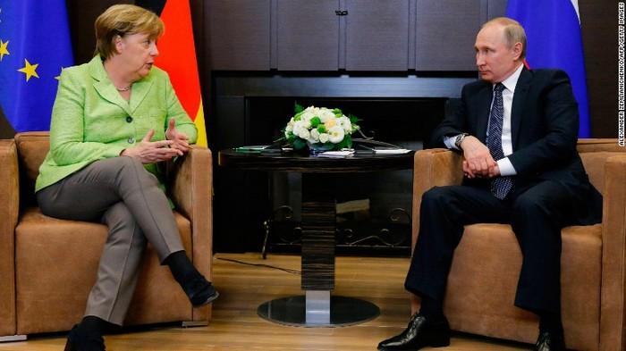 Επαναπροσέγγιση Μέρκελ-Πούτιν, δεν είναι «μπλόφα»