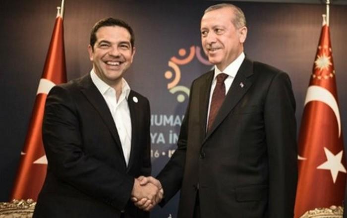 Αντίστροφη μέτρηση για συνάντηση Τσίπρα-Ερντογάν