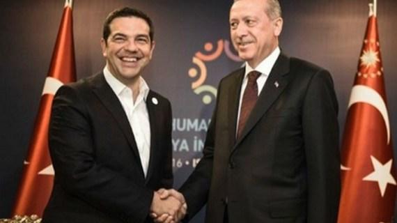 Μηνύματα στη Μέρκελ μέσω Τσίπρα έστειλε ο Ερντογάν