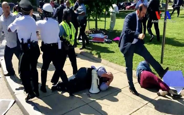 Στα άκρα ΗΠΑ-Τουρκία: Εντάλματα σύλληψης για τους σωματοφύλακες του Ερντογάν