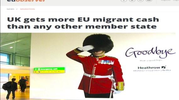 Προσφυγικό: Πακτωλός κεφαλαίων στη Βρετανία από τα Ευρωπαϊκά ταμεία