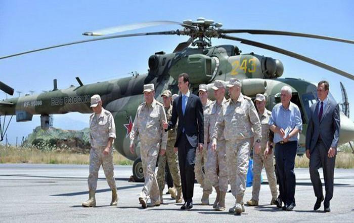 Οι Ρώσοι φυγαδεύουν τον Άσαντ, φήμες για χειρουργικό πλήγμα ΗΠΑ-συμμάχων