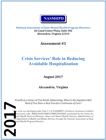 2017 Crisis Services Role in Reducing