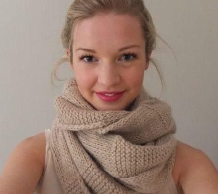 Cómo hacer una bufanda infinita (¡muy fácil!)
