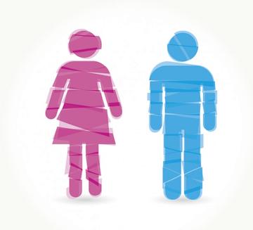 Lo femenino y lo masculino en el cine