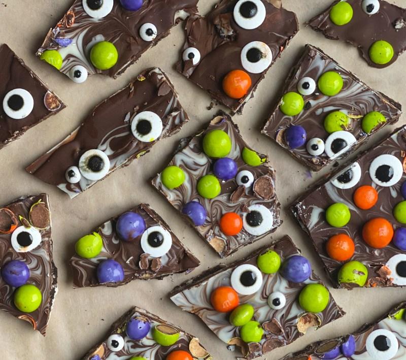 Chocolate Halloween Bark