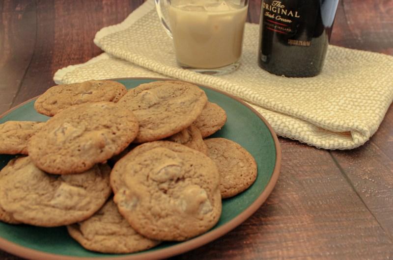Baileys Double Chocolate Chip Cookies