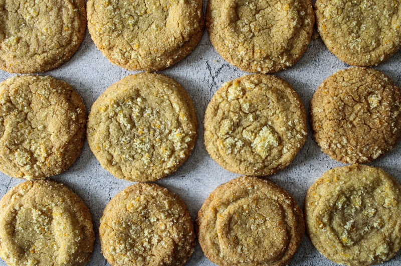 Brown Sugar Citrus Cookies