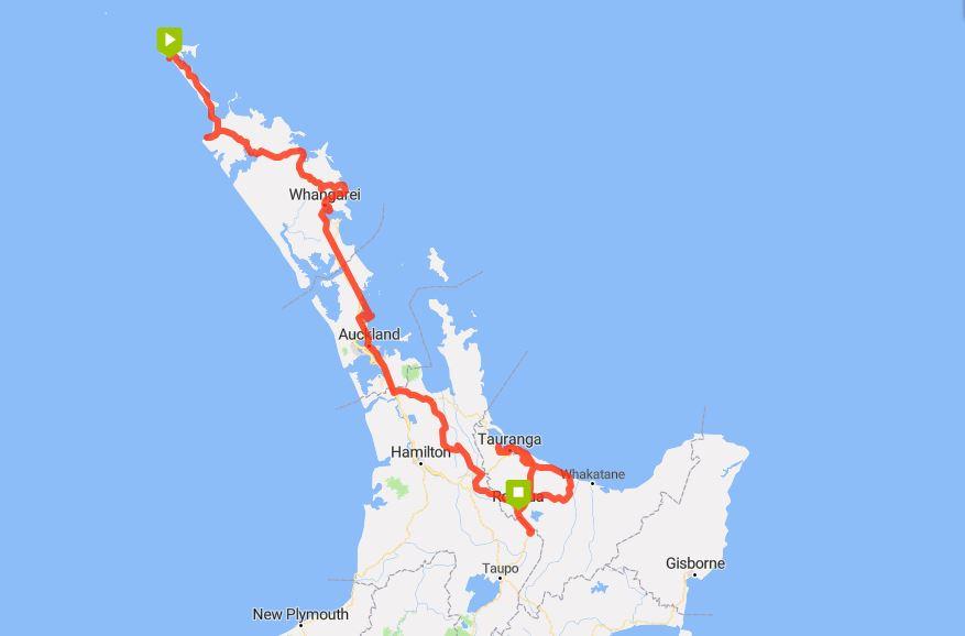Rotorua - Dunes-to-Rotorua-path