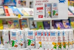 молочные книги,Spar