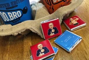 Путин,конфеты,цитаты,ДР